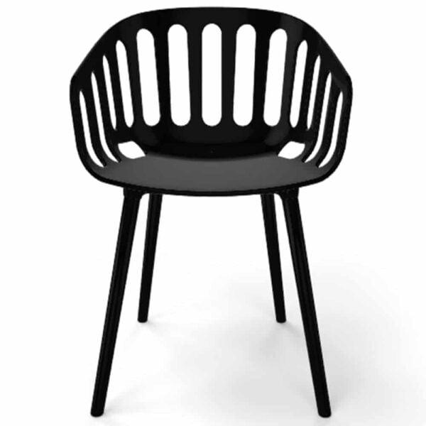 mobilier-collectivite-fauteuil-noir-plastique-moderne-basket-gaber