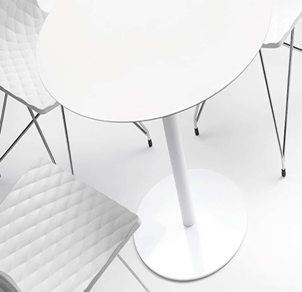 table-restaurant-blanche-ronde-moderne-mt-et-al