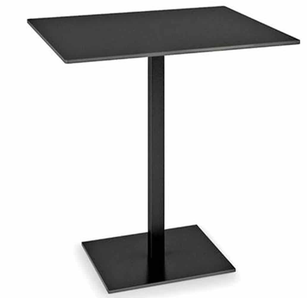table-restaurant-noir-design-acier-verni-plano-infiniti-design