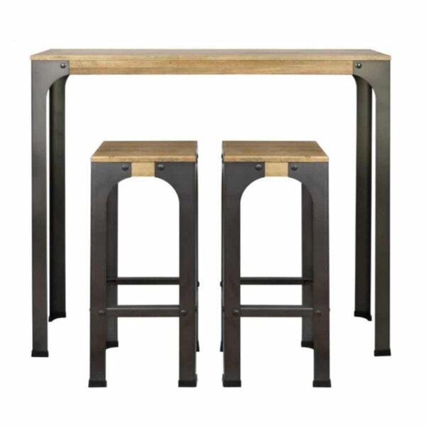 mobilier-vintage-industriel-bar-restaurant-mainel