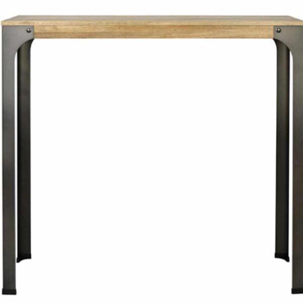 table-bar-haute-industrielle-bois-acier-mainel