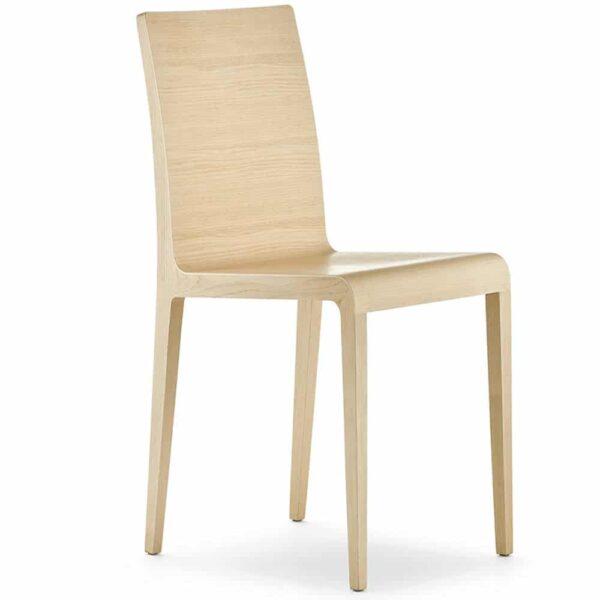 chaise-restaurant-haut-de-gamme-bois-clair-young-pedrali