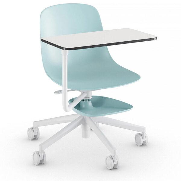 chaise-bureau-roulette-tablette-amovible-edu