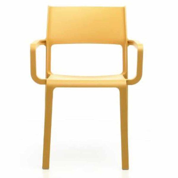 mobilier-de-collectivite-fauteuil-empilable-jaune-trill-nardi