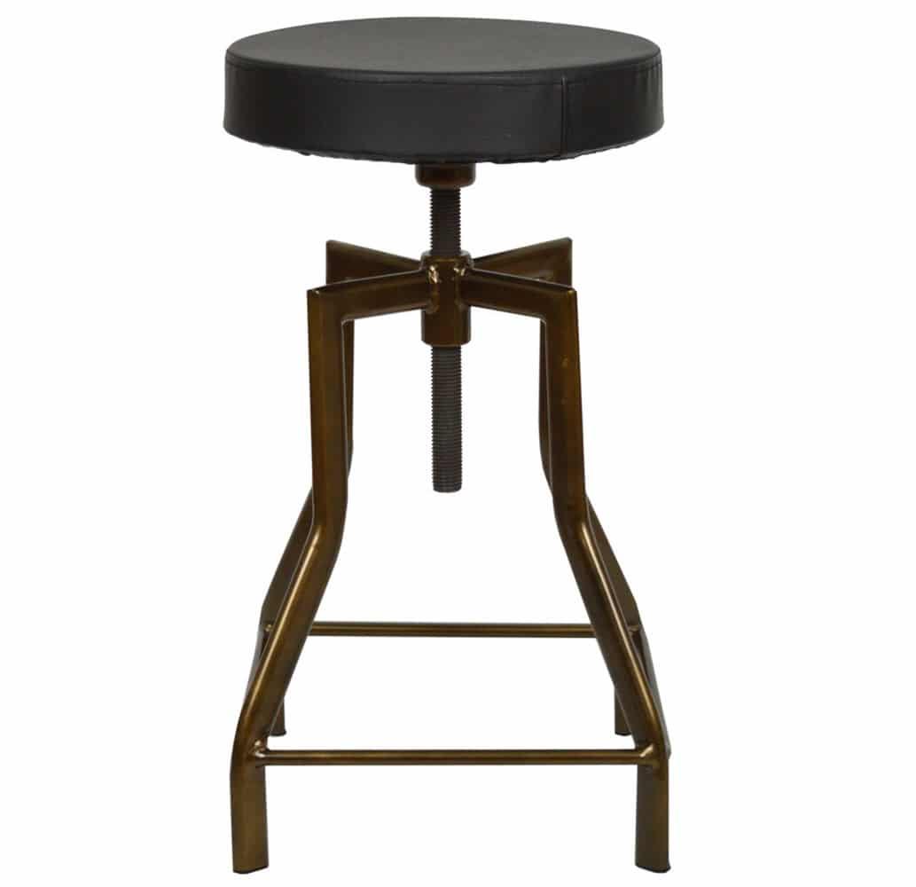tabouret-bar-reglable-acier-vintage-silla