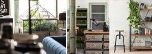 mobilier restaurant vintage industriel