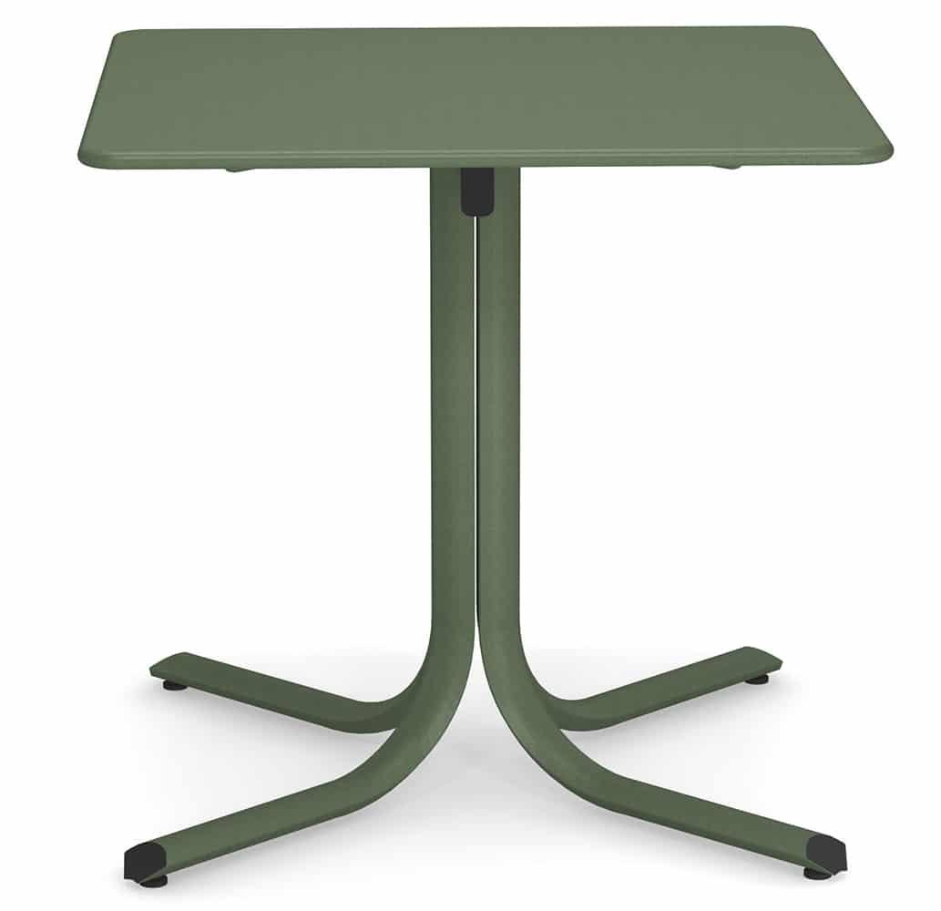 table-de-terrasse-chr-acier-galvanise-verte-pliable-system-emu