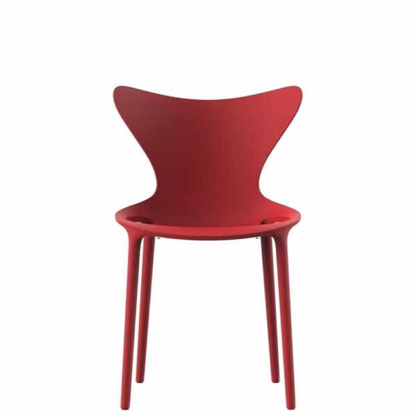 chaise-design-enfant-plastique-empilable-rouge-love-mini