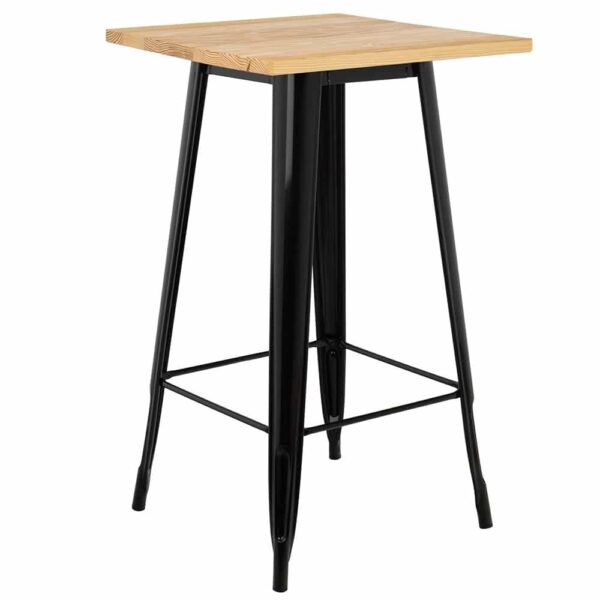 table-bar-haute-industriel-pietement-noir-plateau-bois-naturel-indus