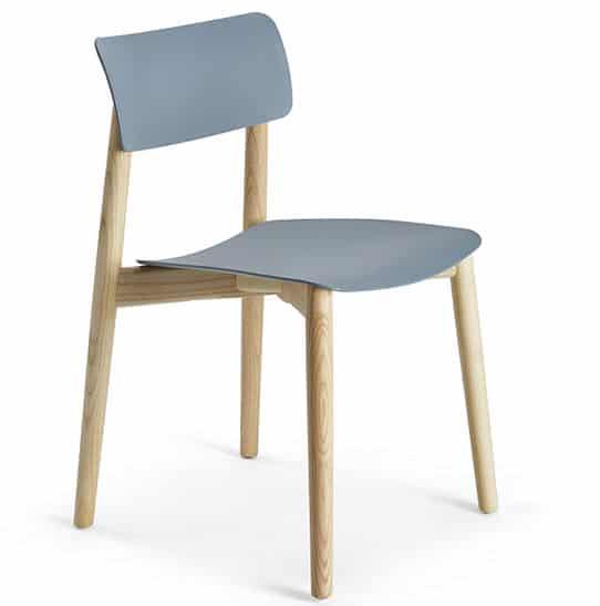 chaise-restaurant-bi-matiere-bois-polymere-bleu-wood