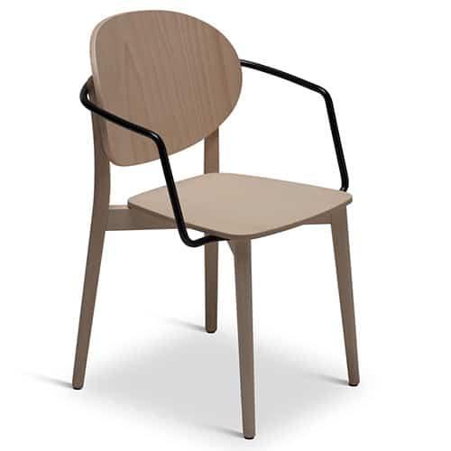 mobilier-restauration-fauteuil-bois-clair-metal-koko