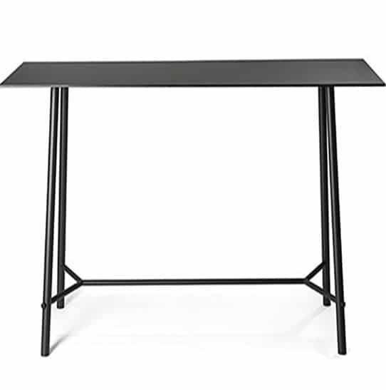 table-haute-mange-debout-haut-de-gamme-noire-meeting