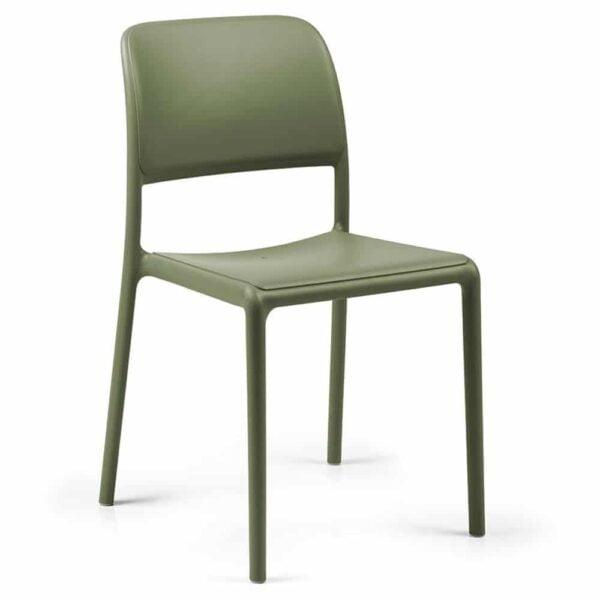 chaise-collectivite-empilable-verte-riva