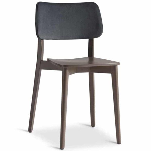chaise-restaurant-bois-dossier-tissu-yumi