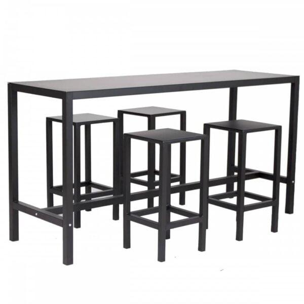 mobilier-professionnel-table-haute-metal-noir-happy-hour