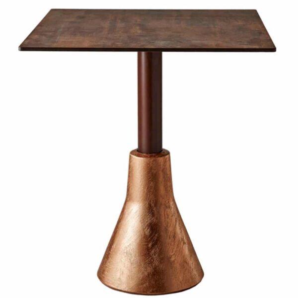 table-restaurant-plateau-et-pied-cuivre-big-foot