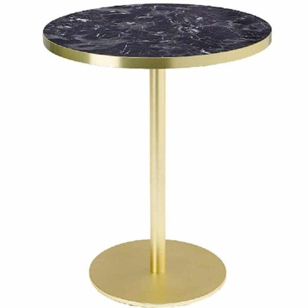 table-ronde-bar-restaurant-pietement-or-plateau-marbre-noir-lux