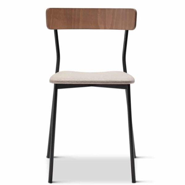 chaise-restaurant-confort-assise-tissu-beige-meka