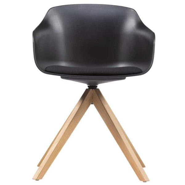 chaise-vsiteur-professionnelle-design-pieds-bois-coque-noir-damo-wood