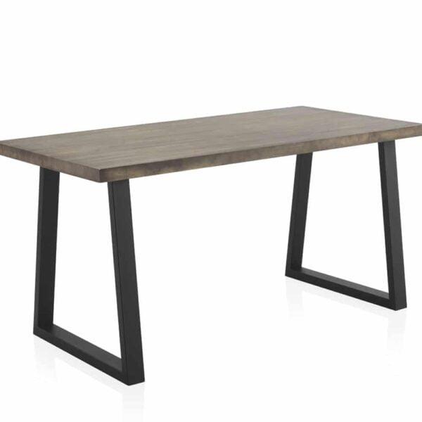 grande-table-bois-brut-pin-vieilli-pied-noir-metal-barry