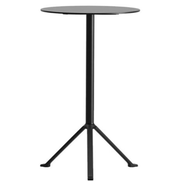 table-mange-debout-design-noir-rond-pliant-rooun