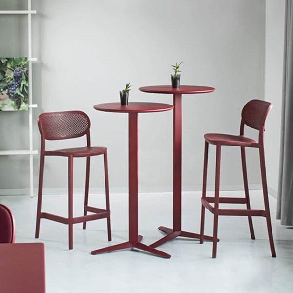 table-mange-debout-metal-rouge-raky-gd