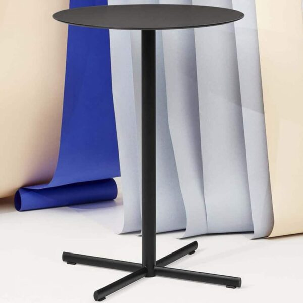table-haute-design-noire-ronde-bar-feluk