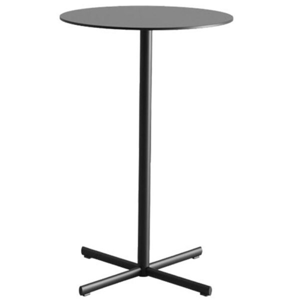table-mange-debout-noir-design-rond-feluc