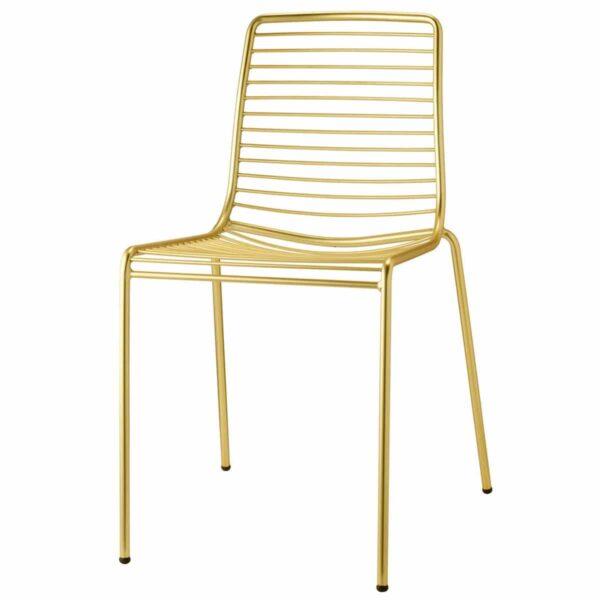 chaise-restaurant-verni-dore-metal-empilable-summer-os-