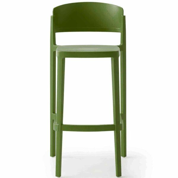 tabouret-bar-vert-olive-empilable-abuela