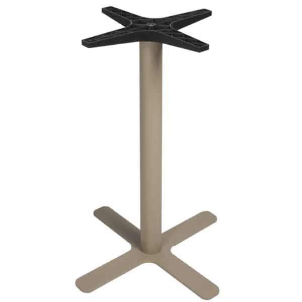 pied-de-table-restaurant-bar-acier-sable-Goya