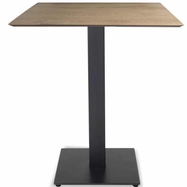 table-restaurant-plateau-compact-bois-clair--pied-noir-Tapas