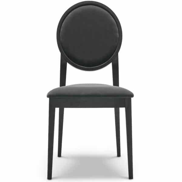 Chaise-medaillon-noir-restaurant-Meddy
