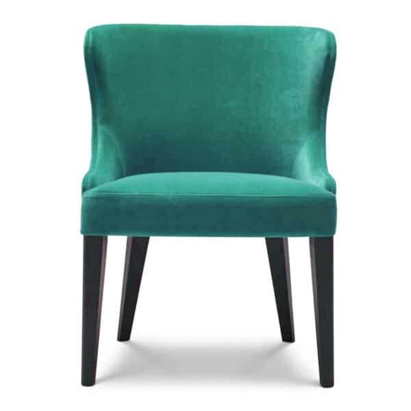 fauteuil-restaurant-velours-bleu-clair-Agathe